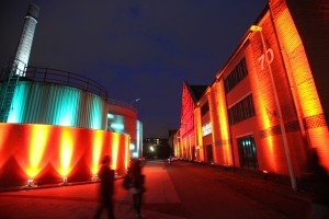 Kölner Theaternacht im Heizkraftwerk Südstadt der RheinEnergie.